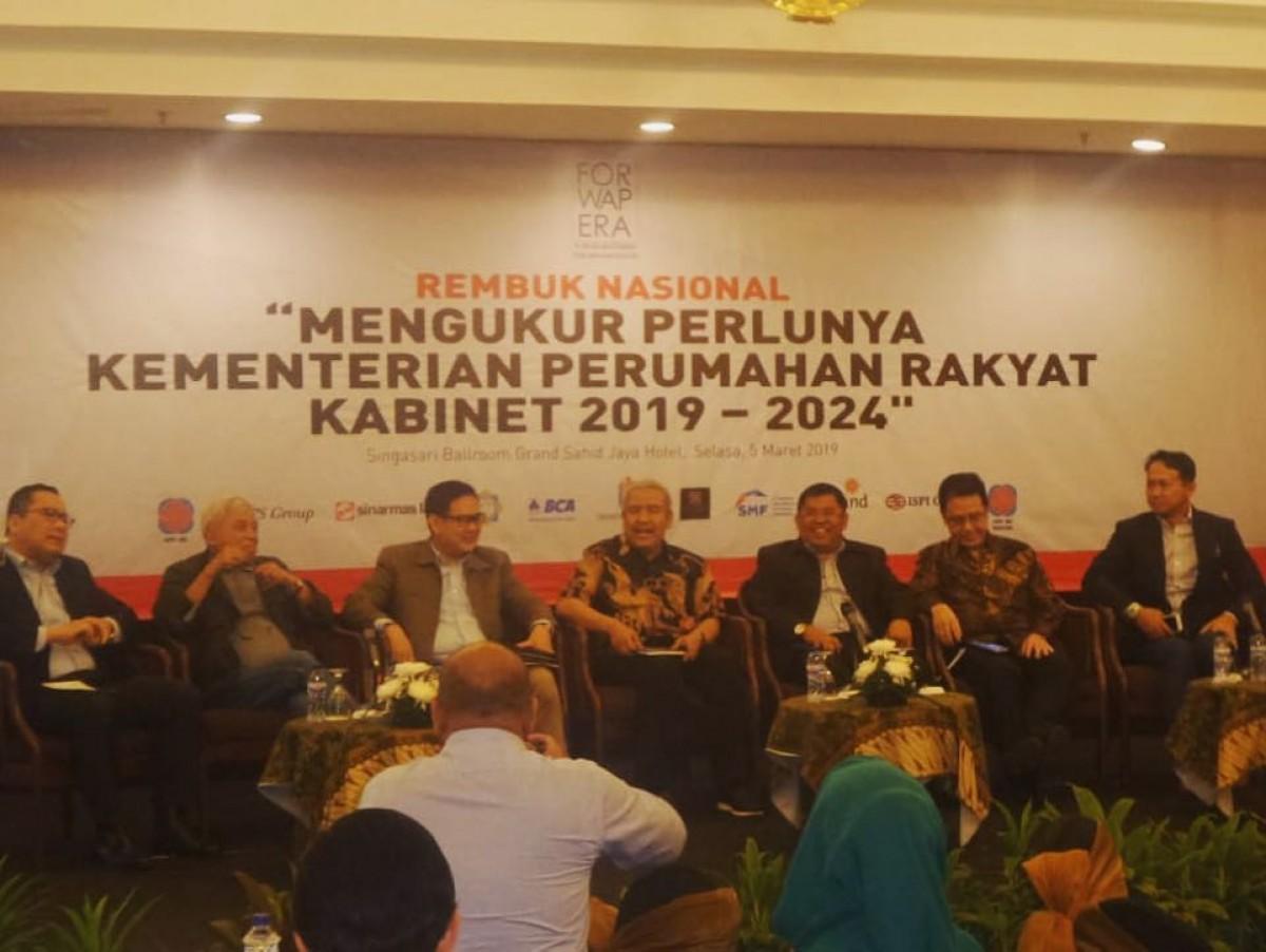 REMBUK NASIONAL Mengukur Perlunya Kementerian Perumahan Rakyat Kabinet 2019 - 2024